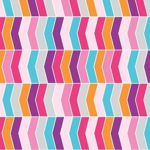 Multicolor chevron