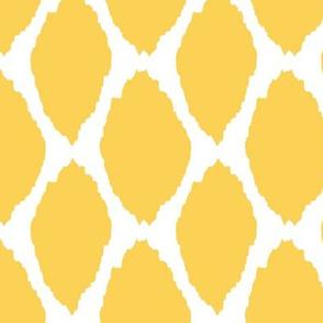 Lemon Oval Ikat II