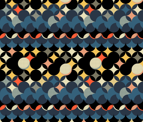 Cosmic Voyager fabric by mimihammill on Spoonflower - custom fabric