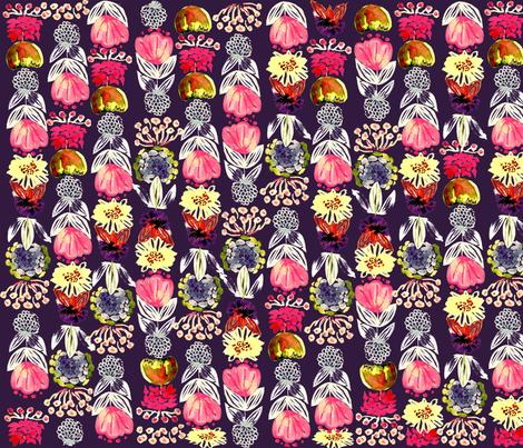 WatercolorFlorals_Shannon_Newlin fabric by shannonnewlin on Spoonflower - custom fabric