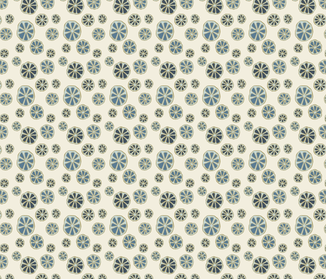Small Whirls Pearlwood fabric by gollybard on Spoonflower - custom fabric