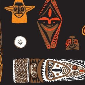 New Guinea Masks 1d