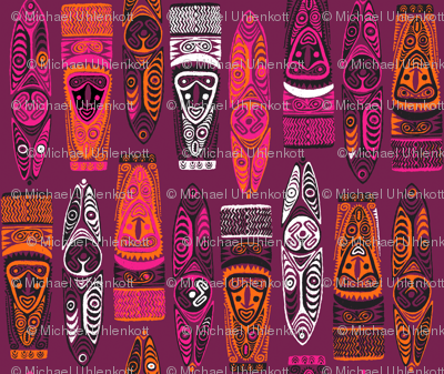 New Guinea Masks 2b