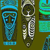 New Guinea Masks 2c
