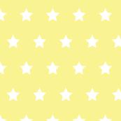 Stars white on yellow