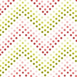 Dotted Chevrons Berry