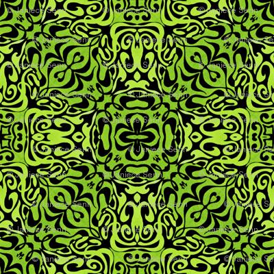 Green fields  comic coordinate plus