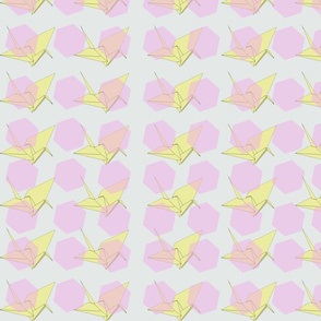 origami_pentagonvintageyellow