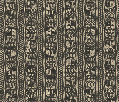 modern mudcloth earth fabric twobirdstone spoonflower