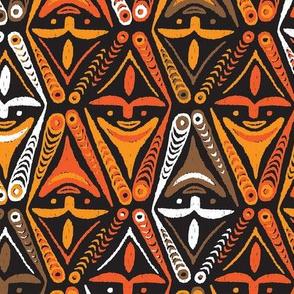 New Guinea Masks 3a