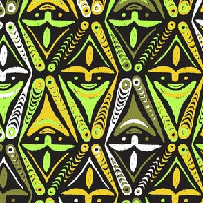 New Guinea Masks 3c