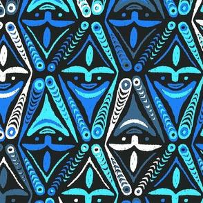 New Guinea Masks 3d