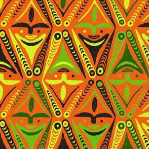 New Guinea Masks 3f
