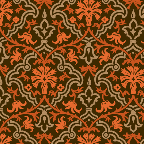 Serpentine 906l fabric by muhlenkott on Spoonflower - custom fabric