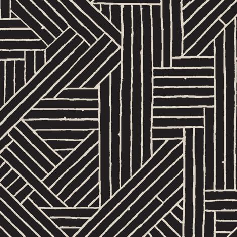 Tiki Rattan 1d fabric by muhlenkott on Spoonflower - custom fabric