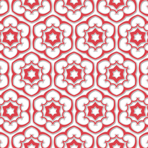 six_pointed_flowered_pattern