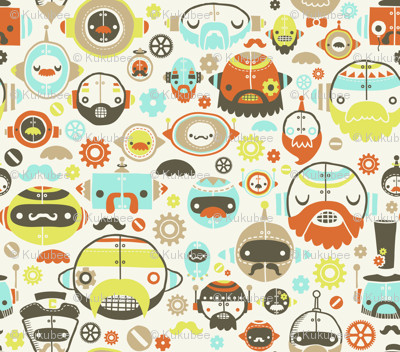 Moustache Robots