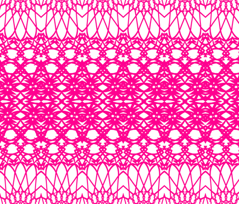 Pink fabric by ornaart on Spoonflower - custom fabric