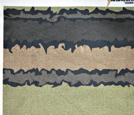 Super Sewing Needle Shaggy Stripes (horizontal)
