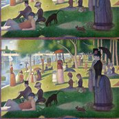 A_sunday_with_a_blue_box_-_georges_seurat_-_test_shop_thumb