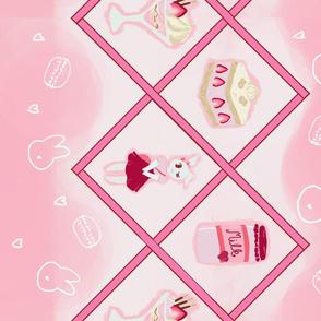 Strawberry Milk Bunny