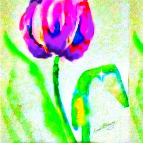 Tulip Prpl 1 yard