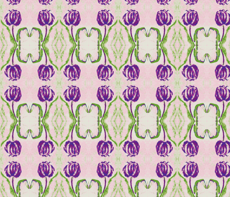 Tulip Purp Test Swatch fabric by tree_of_life on Spoonflower - custom fabric