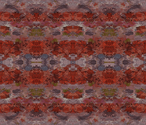 Rocky Bay in Mirror Repeat fabric by anniedeb on Spoonflower - custom fabric