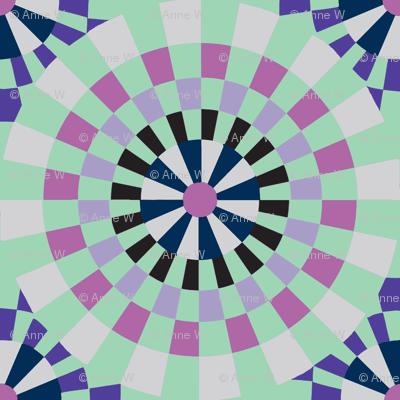 Icy pinwheels