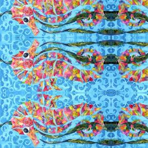 Calypso seahorse - horizontal