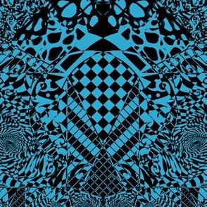 Teal Pattern Scramble