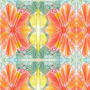 Hand Drawn Hibiscus