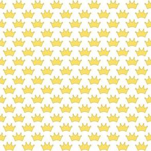 little gold crowns