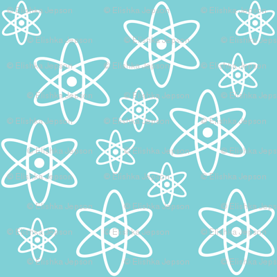 Atomic Science (Light Blue)