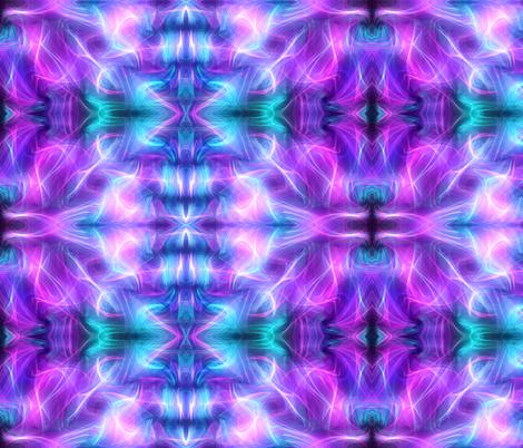 Aurora in Blue, Purple fabric by charldia on Spoonflower - custom fabric