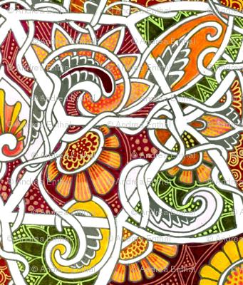 Autumn Tangle
