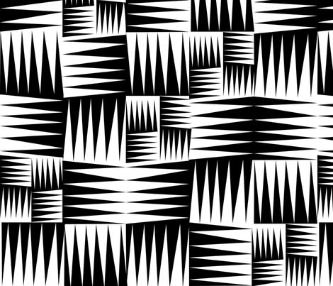 Tribal  fabric by vo_aka_virginiao on Spoonflower - custom fabric
