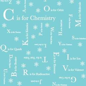 C is for Chemistry (Light Blue)