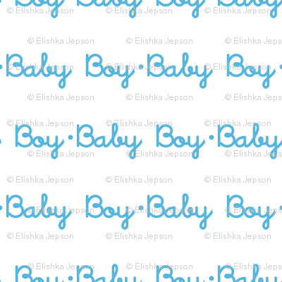 Baby Boy Stripe (White)