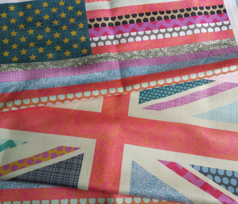 US & UK Beauty flag panels