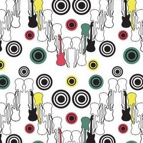 Guitars and Circles Chevron