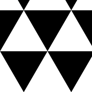Triangle - black and white
