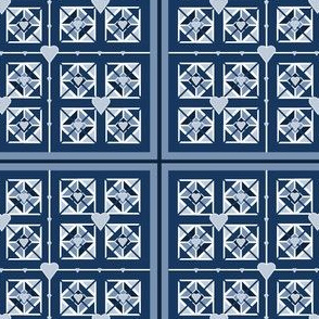 Quilt Patterns Fabric 7