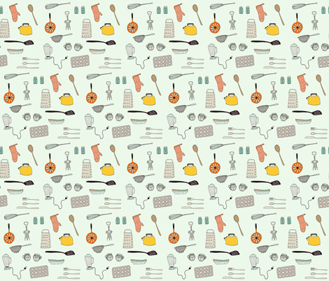 Hip Kitch fabric by zimbiezooella on Spoonflower - custom fabric