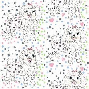 Poodle pattern