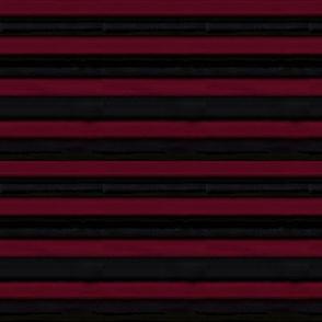 Dark Red and Black Parisian Steam Punk Stripe