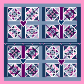 Quilt Patterns Fabric 8