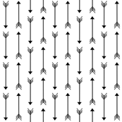 black and white sketched arrows