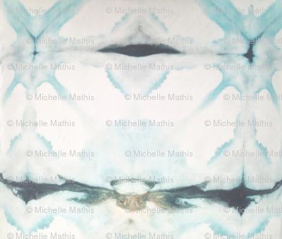 Teal Diamonds   Michelle Mathis