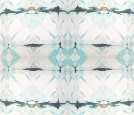 Teal Diamonds | Michelle Mathis fabric by michellemathis@me_com on Spoonflower - custom fabric